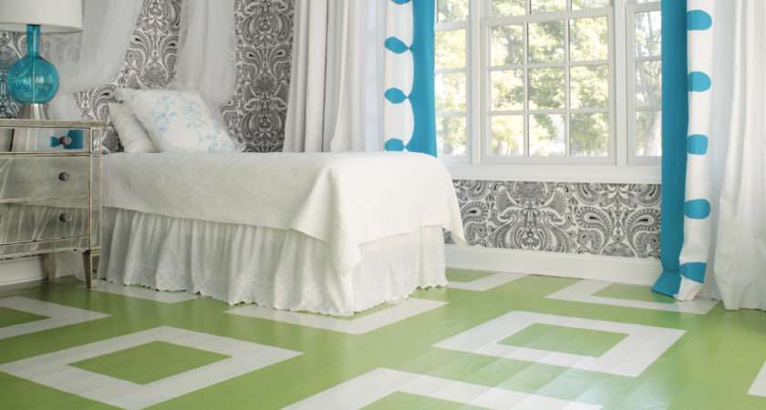 Friday Finds Painted Floors Hirshfield Color Club
