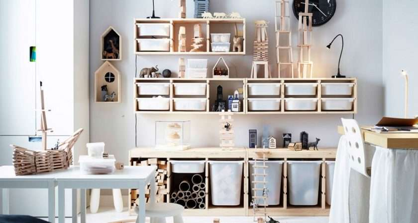 Friendly Playroom Storage Ideas Could Implement