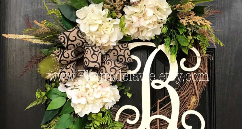 Front Door Wreath Home Interior Design