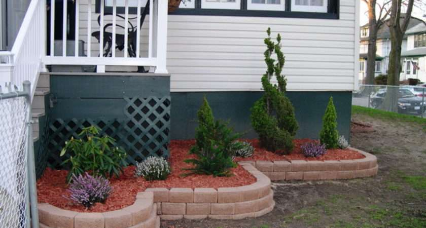 Front House Flower Bed Designs