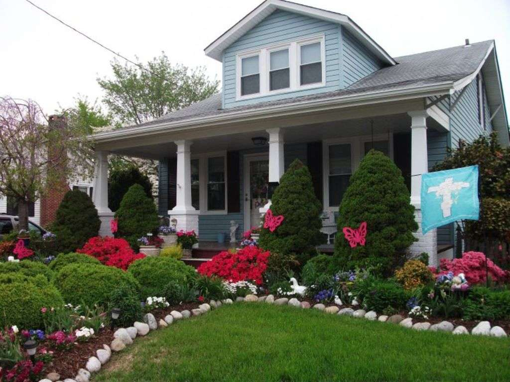 Front House Landscaping Ideas Theydesign