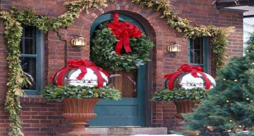Front Porch Christmas Decorating Ideas Country