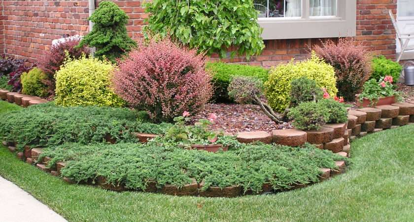 Front Yard Shrubs Design Small Landscaping Ideas