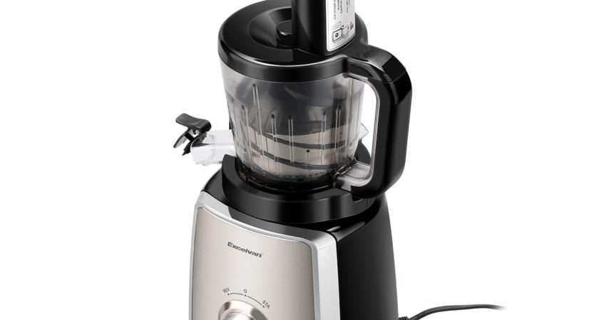 Fruit Vegetable Juice Maker Kitchen Masticating Slow