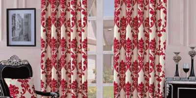 Fully Lined Quality Jacquard Damask Curtains Ready Made