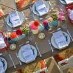 Fun Outdoor Dinner Party Diy Mason Jar Vases Yummy Food