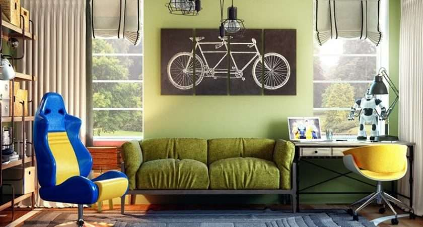 Funky Teen Bedrooms Design Ideas Any Teenager