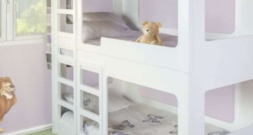 Funtime Triple Bunk Beds Single Only Kids