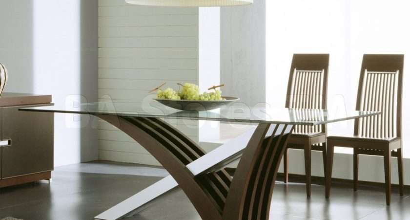 Furniture Artistic Dining Table Designs Glass Top