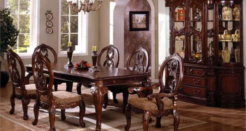 Furniture Classic Dining Room Sets