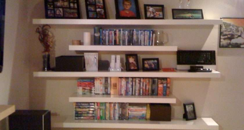 Furniture Floating Shelf Ikea Idea Lowes Shelves Nexel Shelving