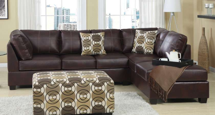 Furniture Leather Couch Sectional Sofas Home