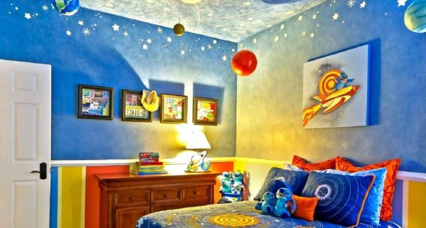 Furniture Outer Space Bedroom Interior Kids