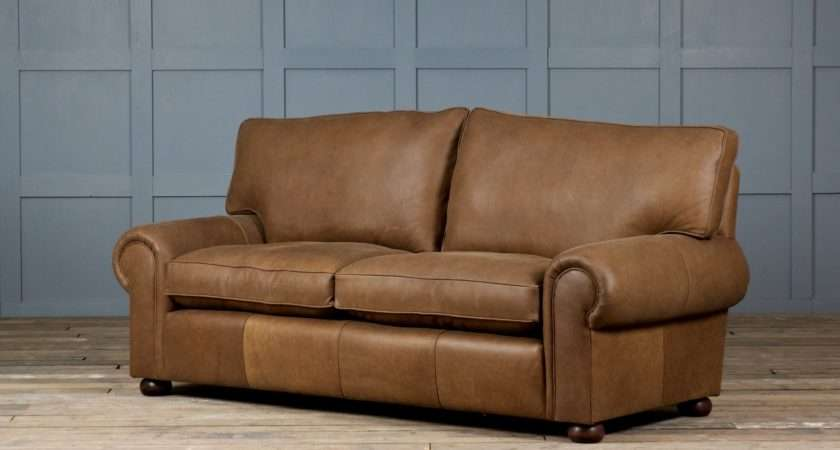 Furniture Rustic Leather Sofa Flair Style Your