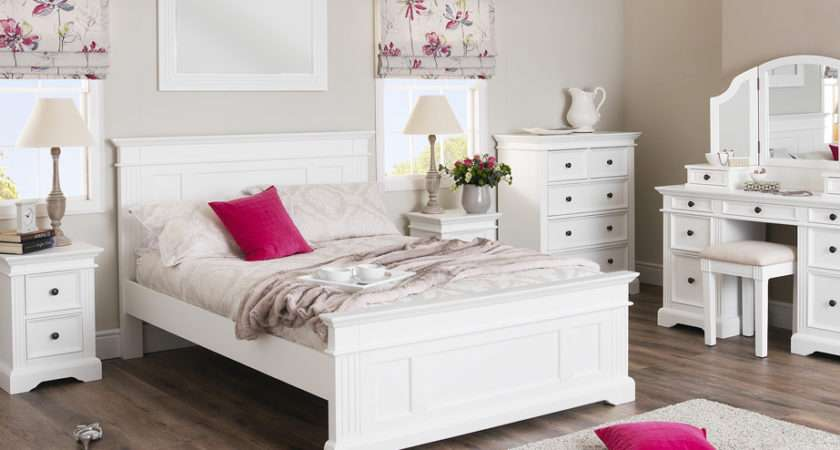 Gainsborough White Bedroom Furniture