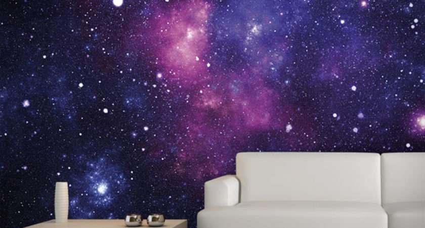 Galaxy Wall Mural Hiconsumption