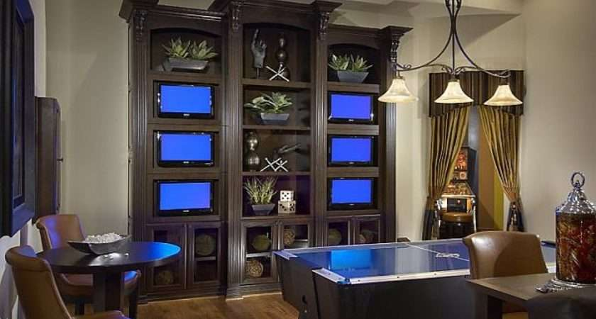 Game Room Design Cool Idea Layout