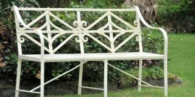 Garden Benches Quality Decoration Metal Bench