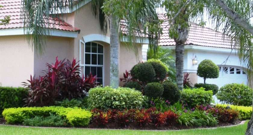 Garden Design Examples Listed Our Front