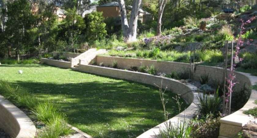 Garden Design Ideas Steep Slope Decoration