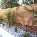 Garden Fencing Ideas Cedar Slatted Fence