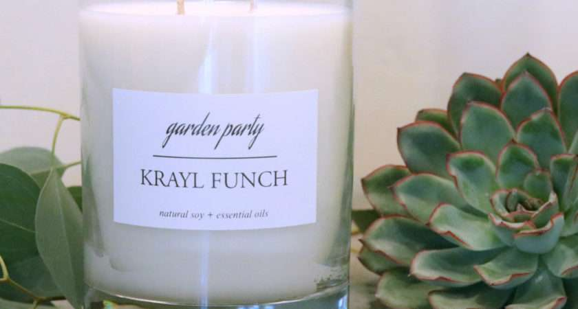 Garden Party Candle Krayl Funch