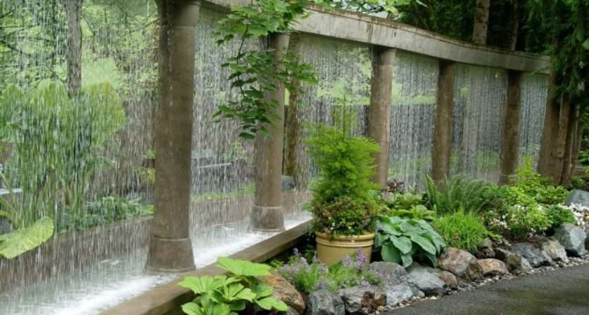 Garden Water Features Awesome Outdoor Design Ideas