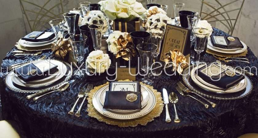 Gatsby Wedding Theme Decoration