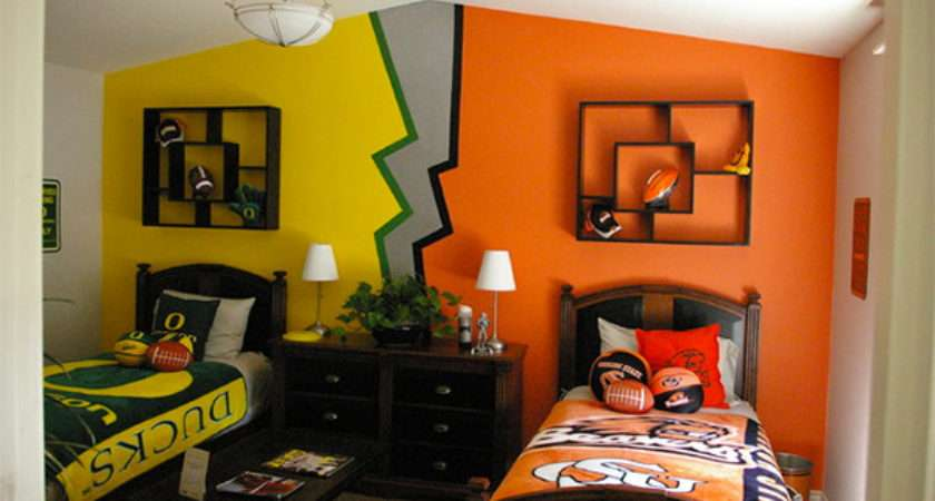 Get Athletic Sports Bedroom Ideas Home Design Lover