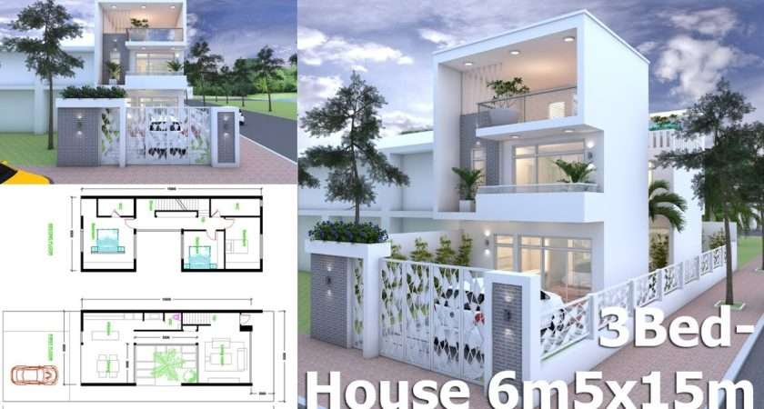 Get Inspire Sketchup Modern Home Plan Youtube