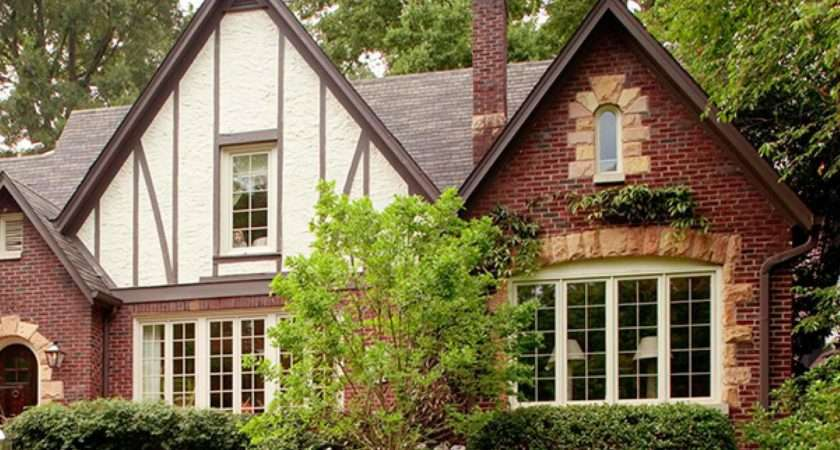 Get Look Tudor Style Traditional Home