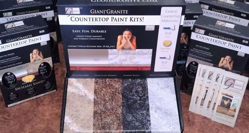 Giani Granite Countertop Paint Kit Ebay