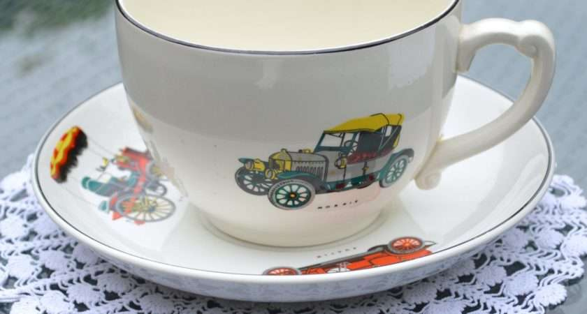 Giant Cup Saucer Large Breakfast Tea Coffee Soup