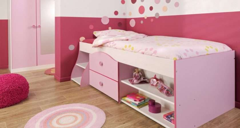 Girls Bedroom Design Ideas Pink Ikea Beds Which Has Double Small