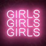 Girls Hand Craft Pink Neon Sign Light Boutique