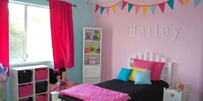 Girls Room Wide Shot Rend Hgtvcom Golime