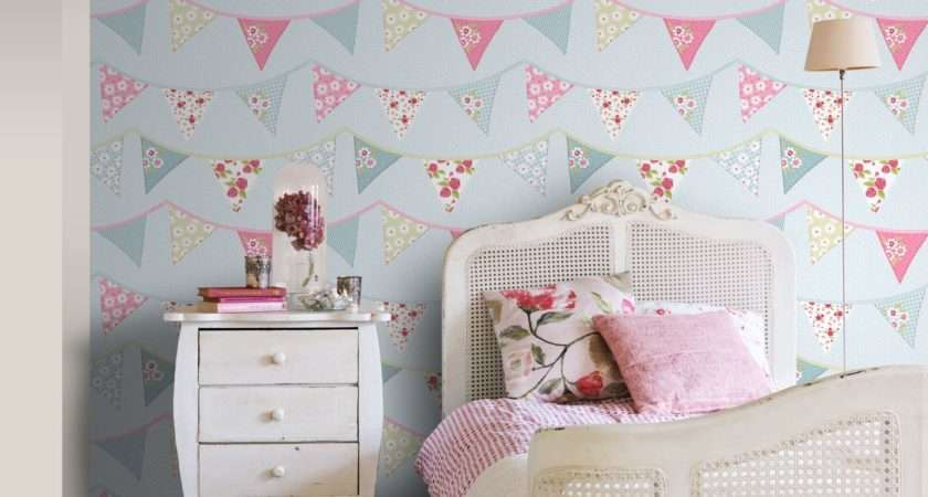 Girls Themed Bedroom Unicorn Stars Heart Glitter