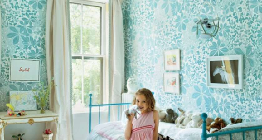 Girls Walls Grasscloth
