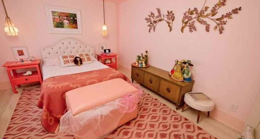 Girly Bedroom Decorating Ideas Pink Girls