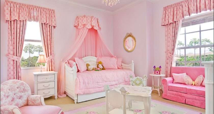 Girly Girl Vintage Style Bedrooms Home Decorating Ideas