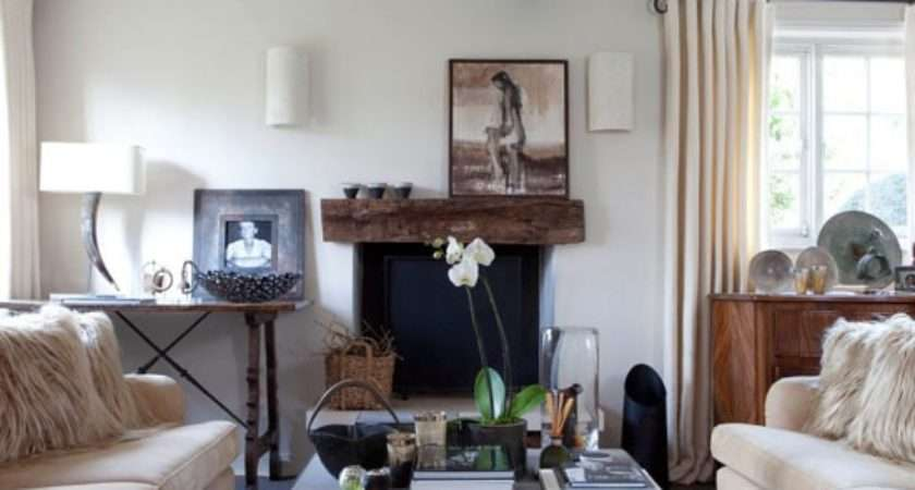 Give Living Room Cosy Style Design