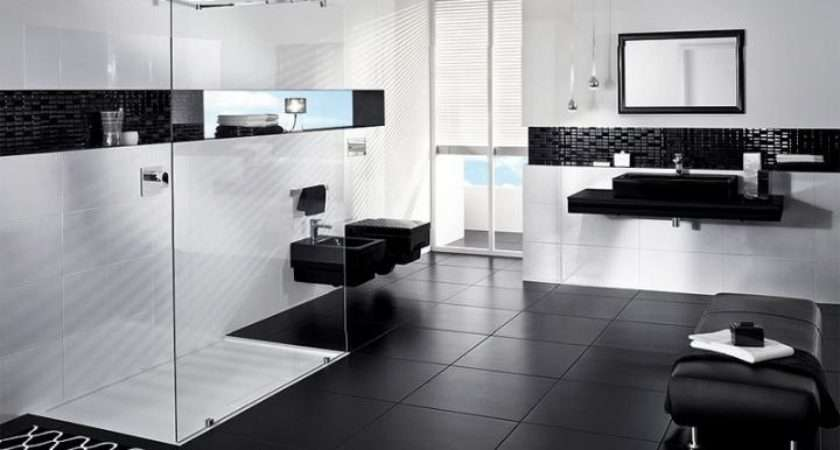 Glamorous Black White Bathroom Ideas Decozilla