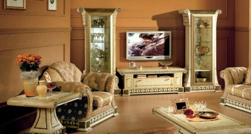 Glamorous Modern Living Room Decoration Ideas Feat Marble Pedestal