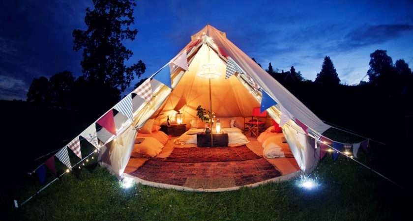 Glamping Holiday Welcome Luxury Campsite Based
