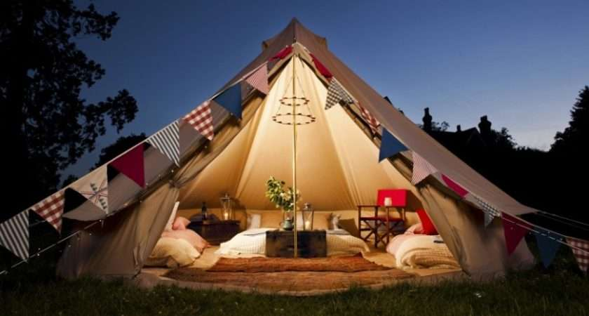Glamping Surrey England Bell Tent Holiday