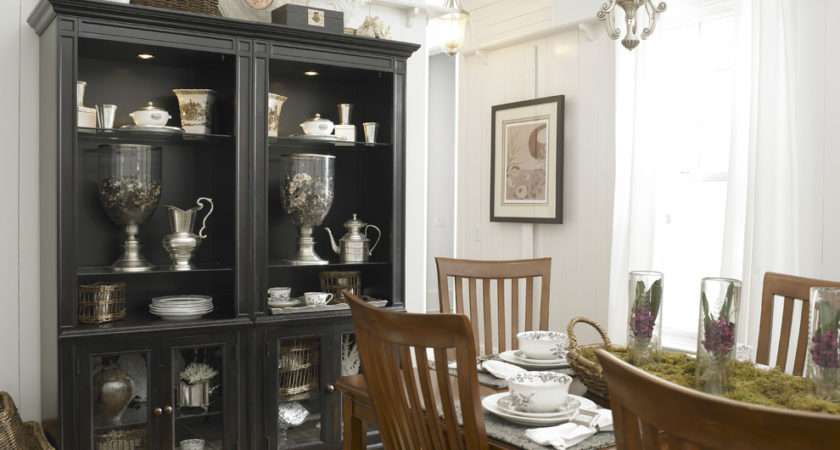 Glass Cabinet Closed Space Give Ample Storage