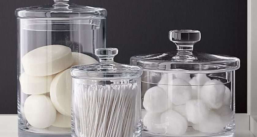Glass Canisters Crate Barrel