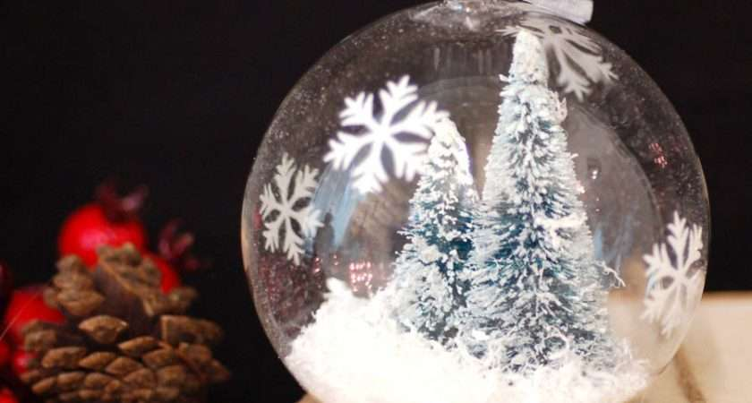Glass Christmas Tree Hanging Bauble Decoration