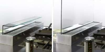 Glass Kitchen Divider Your Adorable Stainless Steel Table