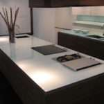 Glass Kitchen Worktops Modern London